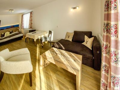 Photo for Double room DELUXE 1 - Apartments and Pension Mariandl