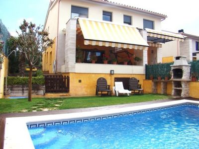 Photo for Club Villamar - Semi-detached villa for 8 persons with private pool, internet, parking place and ...