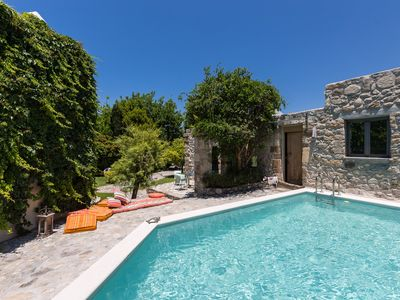 Photo for Muazzo Stone House, a fairytale cottage! Nature and Privacy! Car free holidays!