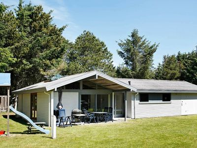 Photo for Attractive Holiday Home in Lokken with Terrace & Open Kitchen