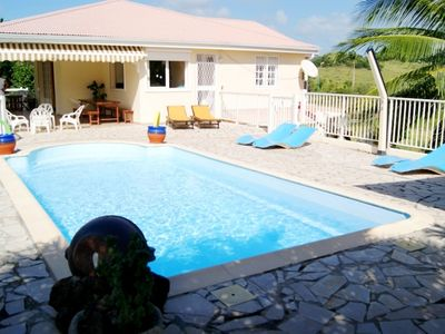 Photo for Villa 3 chambres �� sainte anne avec piscine privée et appartements en contrebas