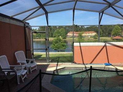 Photo for Beautiful 3 bedroom townhome 10 miles to Disney