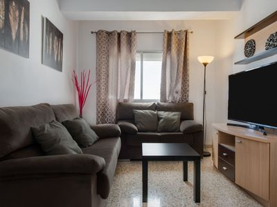 "Photo for Central Apartment ""Centrico Conil"" Near the Beach with Wi-Fi, Air Conditioning, Sea View & Balcony"