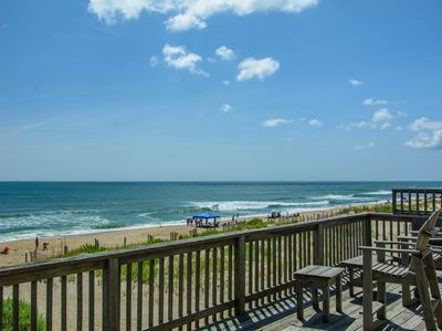 Photo for Ocean Haven: Oceanfront, ocean views, hot tub, private walkway to the beach.