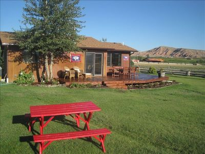 Photo for Yellowstone/Dubois Private Cabin on the Wind River