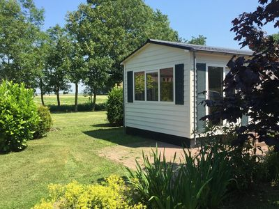 Photo for Detached accommodations, peaceful and tranquil holiday park with pool