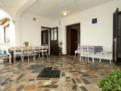Photo for Three bedroom apartment with terrace and sea view Zubovići, Pag (A-4082-a)