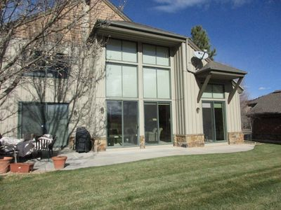 Photo for $325/night-3 bedroom/2.5 bath townhome in a private golf club in Carbondale, CO
