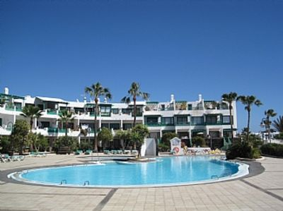 Photo for Playa Bastian, Ground Floor Apartment, Lovely Complex, WIFI, Near all amenities