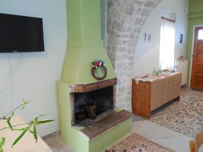 Photo for Village house close to nice beaches of grete.