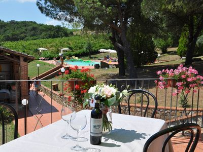 Photo for Apartment in an idyllic holiday resort in the midst of the winery-B2