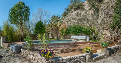 Photo for Rare pearl! Beautiful pool, private access to the river