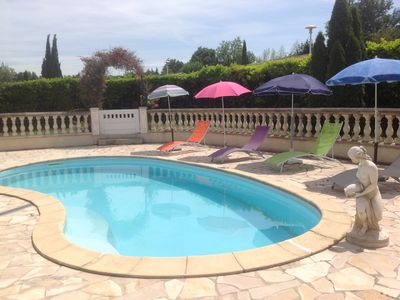Photo for Arles (Camargue) Villa with pool in a quiet area