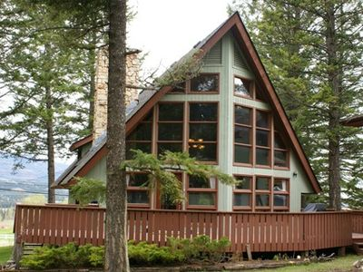 Photo for Beautiful cottage, AMAZING views. On golf course. Sauna