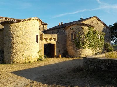 Photo for CEVENOL MAS IN ANCIENT FORTIFIED FARM NEAR ANDUZE