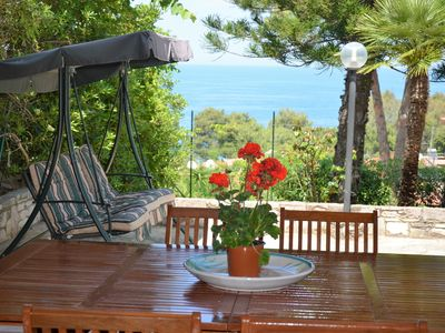 Photo for Villa Sara. Direct access to the beach in front of the Zingaro nature reserve