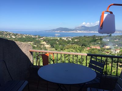 Photo for Porticcio villa overlooking gulf ajaccio