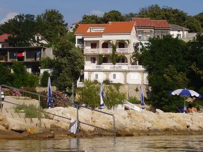 Photo for Holiday apartment with air conditioning, balconies and sea views