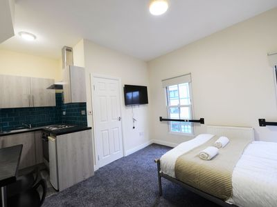 Photo for Restful Apartment in Coventry near FarGo Village