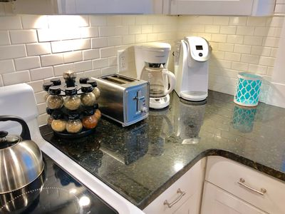 Traditional Drip and Keurig Coffee Makers