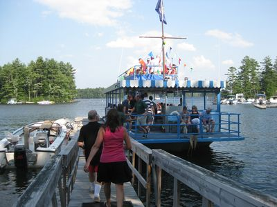 Heading for a cruise aboard the Point Sebago Princess!