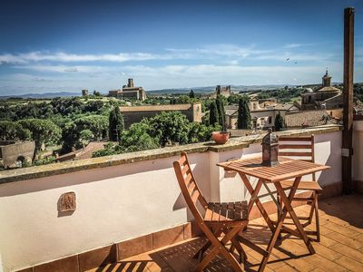 Photo for House with stunning view near Rome and Tuscany - The Etruscan Terrace