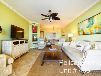 Photo for PELICAN POINTE UNIT #403 Come Enjoy the BEACH!
