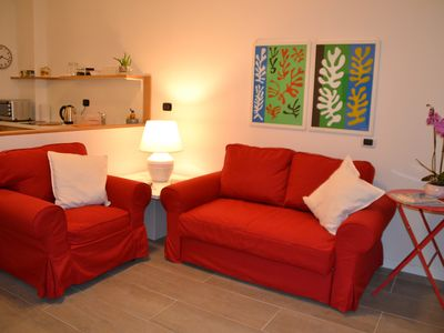Photo for Two-room apartment in San Lazzaro di Savena-15 minutes from the center of Bologna