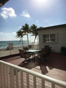 Photo for 1 OCEANFRONT studio with direct ocean views!! 1