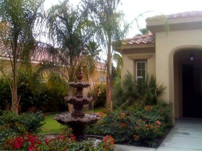 Photo for PGA West~Luxurious Private Home on golf course with pool & mountain views!