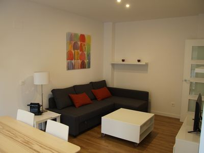 Photo for Hiedra apartment in El Carmen with WiFi, integrated air conditioning (hot / cold) & lift.