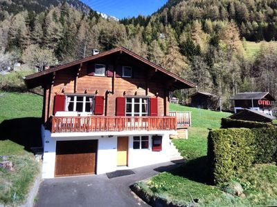 Photo for Charming Chalet at Authentic Village with Large Sunny Terrace and Magnificent View
