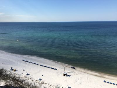 Photo for Beachfront-Yes!  Oceanfront-Yes!  Large balcony facing the Gulf-Yes!  Sleeps 6