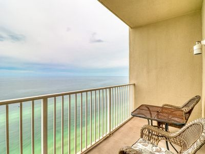 Photo for Incredible view from beachfront condo - full access to pool and amenities!
