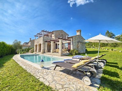 Photo for New, high quality stone villa with panoramic views - LAST MINUTE OFFERS!