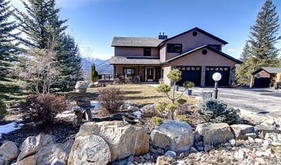 Photo for Fairmont Hot Springs 6 Bedroom Home - Private Hot Tub  and  Pano 82114