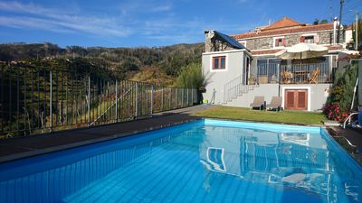 Photo for Wonderful Sunset - Country House in Calheta