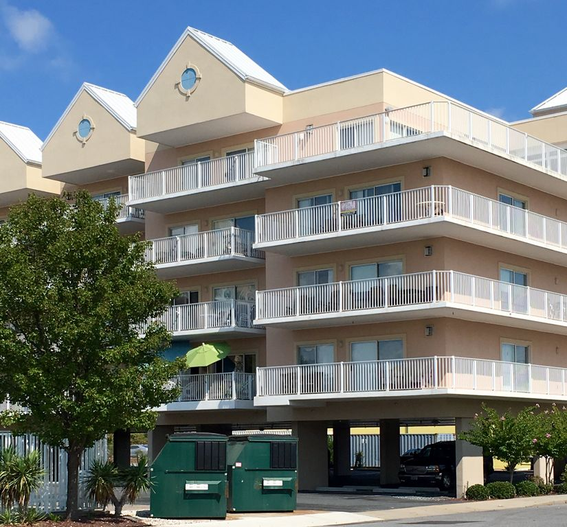 Beach Houses For Rent In Ocean City: Lorelei II, Unit 210/3Bdr/ Bayside Condo/125Th St. Ocean