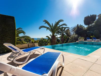 Photo for Spacious 4 star villa with a pool and a beautiful view