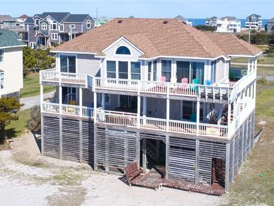 Photo for Soundfront Rodanthe w/ Own Private Sandy Beach & a Hot Tub! Great for Families!