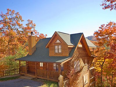Photo for Great Mountain Views! 5miles to Pigeon Forge Parkway. Access to Pool, Fishing, Putt Putt, Golf, etc!