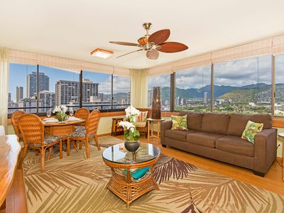 Photo for AMAZING Renovated Waikiki Sky Tower Condo - Close Walk to Everything!