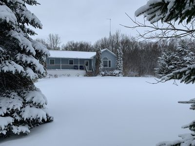 Your home for the holidays, a winter wonderland