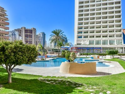 Photo for Holiday rental apartment situated in Calpe (Costa Blanca), for maximum 4 people. Nice apartment with fantastic sea views.
