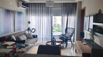 Photo for 1 Br, 3 guests, Wifi, air cond, elevator, Jacuzzis, Gym, kids area, cinema, safe