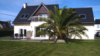 Photo for T6 house with garden, near beaches, Plouescat