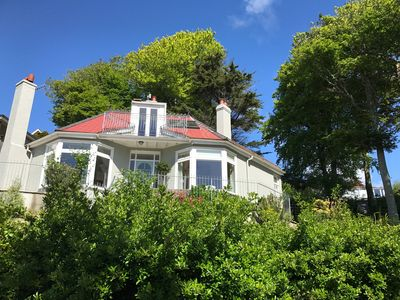 Sensational Moult Sylvan Stunning Shabby Chic Holiday Home Stunning Sea Views Salcombe Download Free Architecture Designs Viewormadebymaigaardcom