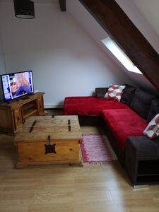 Photo for T2 apartment under warm, bright, quiet attic, wifi and garage