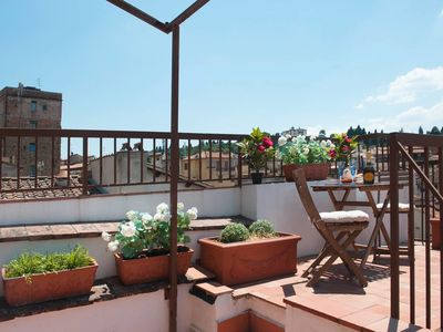 Photo for The Penthouse - Panoramic Roof Terrace & Free Parking