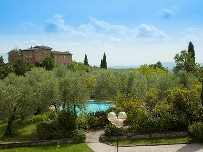 Photo for TUSCAN VILLA IN CHIANTI -100% Private Pool - Sleep 11+1 - Catering available